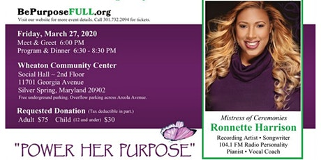 "Venterprises 5th Anniversary ""Power Her Purpose"" Benefit & Showcase tickets"