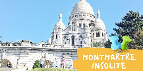 Visite insolite de Montmartre tickets