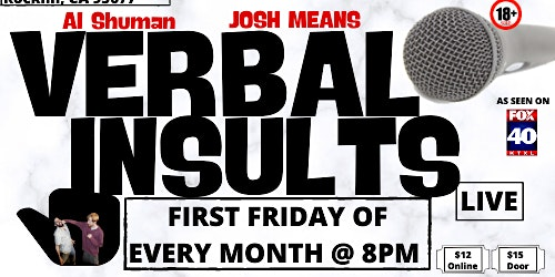 Verbal Insults: Live (March)