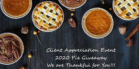 SHG Annual Thanksgiving Pie Giveaway tickets