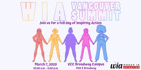 Women in Animation Vancouver Summit 2020 tickets