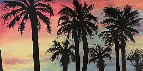 'Sundown and Palms' - Fun Paint and Sip Event tickets