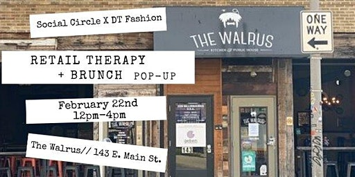 Retail Therapy + Brunch Pop-Up