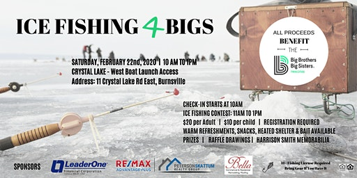 Ice Fishing 4 BIGS - Supporting Big Brothers Big Sisters Twin Cities