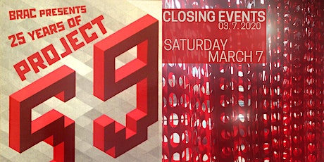 Project 59 Closing Events tickets