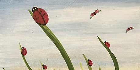 'Rise of the Ladybugs' - Painting and Sip Event tickets