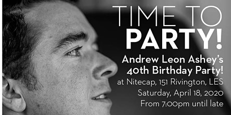 Andrew Ashey's 40th Birthday! tickets