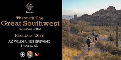 'Through The Great Southwest' Beer Garden Screenin tickets