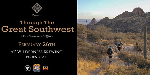 'Through The Great Southwest' Beer Garden Screenin