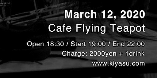 Ryosuke Kiyasu live in Tokyo, Japan - March 12, 2020