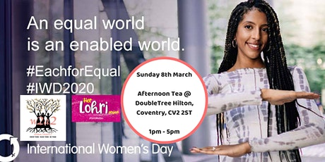 W2A2 International Women's Day Afternoon Tea tickets