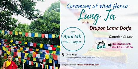 Ceremony of Wind Horse with Drupon Lama Dorje tickets