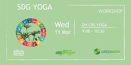 Green Week: SDG Yoga