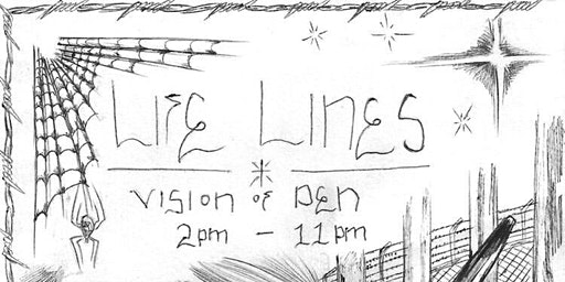 Life Lines (Vision of Pen) Ink Art Show (live Set from N8 NoFace)