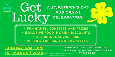 A St. Paddy's Day Pub Crawl Celebration! | St. Paddy's Pub Crawl YYJ tickets