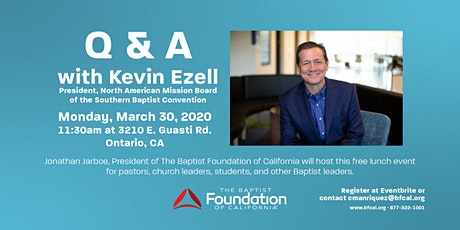 BFC Q&A with Kevin Ezell | President of the North American Mission Board tickets