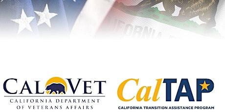 California Transition Assistance Program-Solano Community College & Napa Valley College tickets