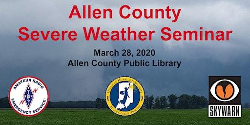Allen County Severe Weather Seminar, 3/28/2020