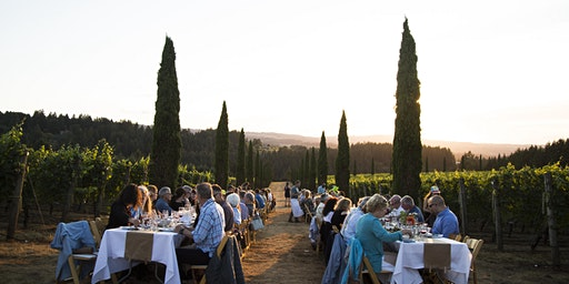 Dinner in the Field at Alloro Vineyard w/ Vibrant Greens