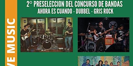 PRESELECCION DE BANDAS CONCURSO MR JONES LIVE tickets
