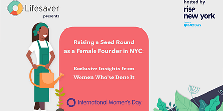 *POSTPONED* Raising a Seed Round as a Female Founder in NYC  tickets