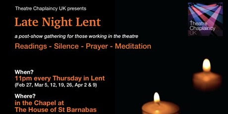 Late Night Lent tickets