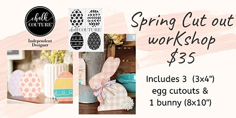Spring Cut Out Chalking Workshop tickets