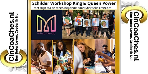 Schilder workshop King & Queen power inclusief High Tea
