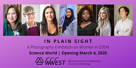 In Plain Sight: Women in STEM Photography Exhibition tickets