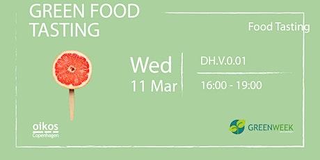 Green Week: Green Food Tasting tickets