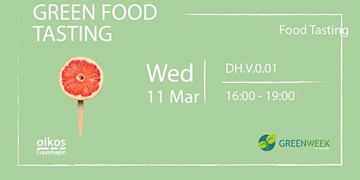 Green Week: Green Food Tasting
