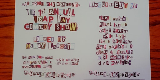 1st Annual Leap Day Comedy Show