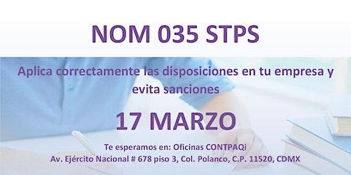 NOM 035  - Aplica correctamente las disposiciones en tu empresa