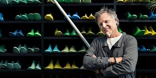 Iconic shoe designer John Fluevog is  visiting Melbourne!