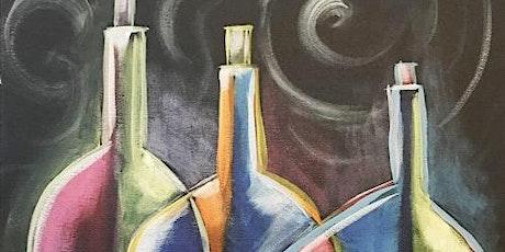 Painting & Brews - 'Three Bottles' tickets