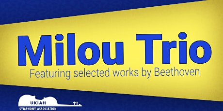 MILOU TRIO: Fundraiser Concert