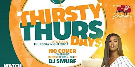 Thirsty Thursdays | Hip-Hop + R&B tickets