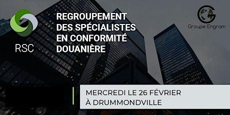 Regroupement des Spécialistes en Conformité à Drummondville le 26 février billets