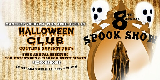 8th Annual Spook Show by Halloween Club #SpookShow8