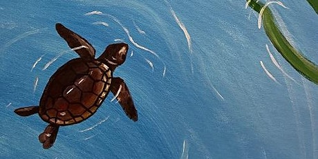 'Little Turtle' - Fun Paint and Sip Event tickets