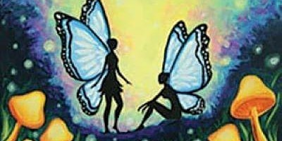 Butterfly Fairies Canvas Paint Night