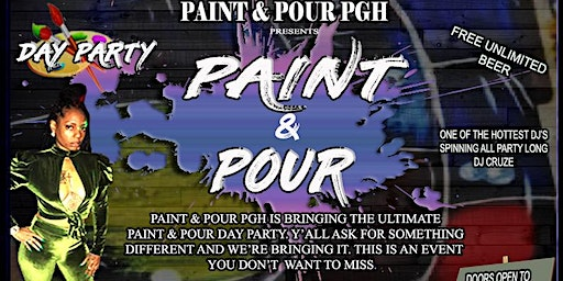 Paint and Pour Day Party
