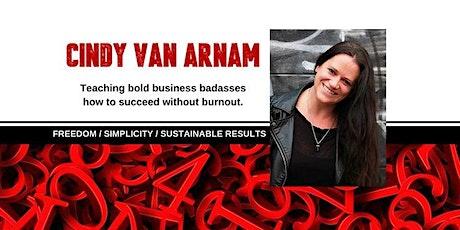 An Elegant Badass Facebook Interview Cindy Van Arnam! tickets