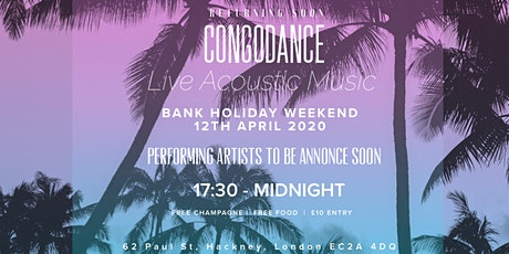 CONGOLESE RUMBA (LIVE ACOUSTIC MUSIC) tickets