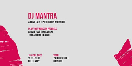 Postponed: CDR Croydon with DJ Mantra tickets
