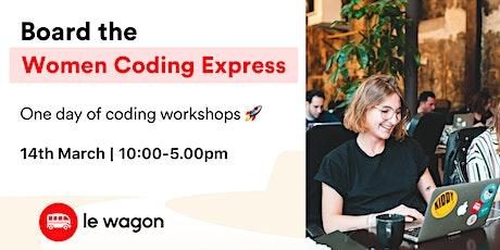 Women Coding Express  tickets