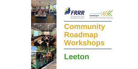 Free Community Roadmap workshop for the Leeton community tickets