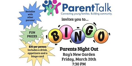 Parent Talk Bingo Night tickets
