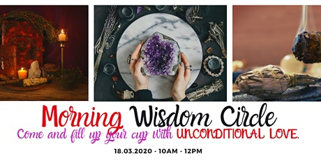 Morning Wisdom Circle - March 2020 tickets