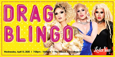 Drag Blingo tickets